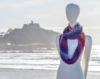 C2C Infinity Scarf. 23 Colour Options. Handmade to Order.