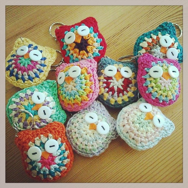 How To Crochet a Lovely Owl Keychain. - DIY Style Tutorial ... | 794x794