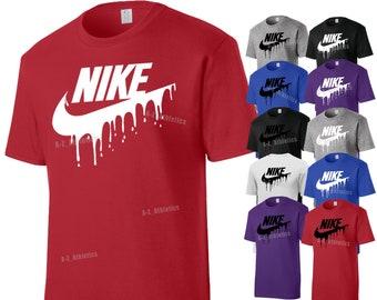 Nike Drip Logo Custom T Shirt
