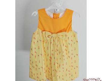 Blowing Yellow Summer Dresses