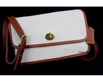 8708486ff92 COACH Vintage Spectator Compartment Bag #6850