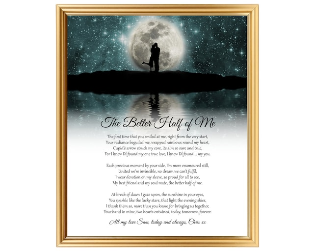 Gift For 13th Wedding Anniversary: Any Wedding Anniversary Gift Poem 11th 12th 13th 14th 15th