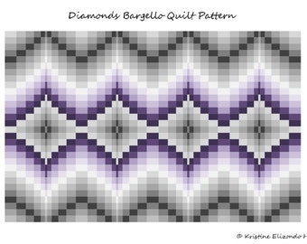 Autumn Points Bargello Quilt Pattern & Tutorial Lap size and