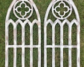 Farmhouse Arched Frames with Quatrefoil set of two