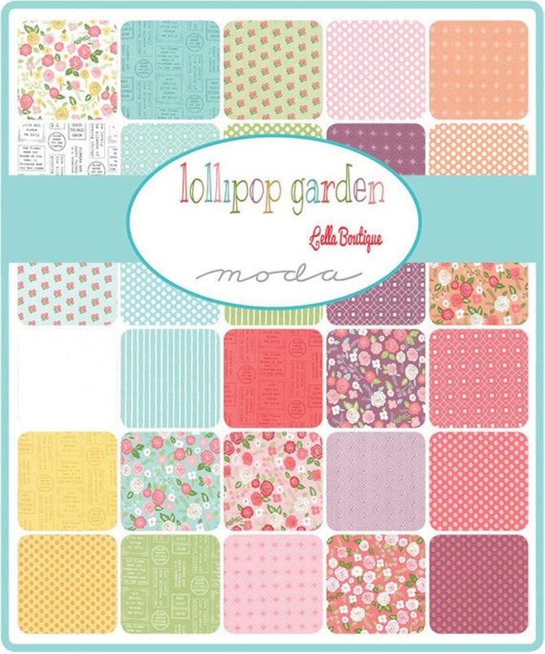 Lollipop Garden Layer Cake by Lella Boutique for MODA Modern Quilt Fabric