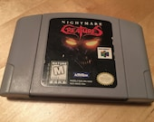 Nightmare Creatures Official Nintendo 64 Game Cartridge N64 Collectible Cleaned and Tested