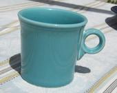 Fiesta Ware Mug , Made in USA , Turquoise mug