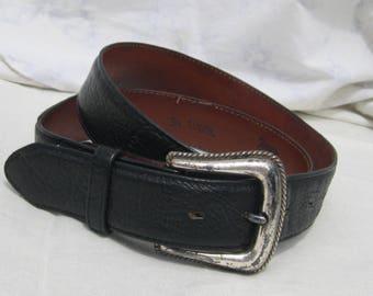 Tony Lama Vintage Belt , Made in USA, Cowboy belt