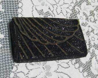Beaded Evening Clutch or Shoulder Bag