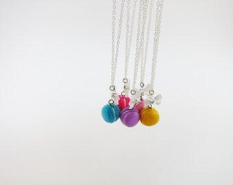 Necklace - macaroon - choose your color | Mini | Chez Laurette