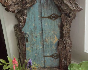 Fairy Door With Tiny Key Each Hand Cut One Of A Kind Several Sizes Handcrafted By Olive Accessories House