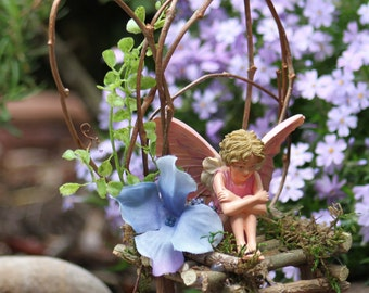 Fairy Chair Wild Vine And Willow Branch Fairy Bench Etsy