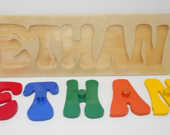 Name Puzzle With Pegs