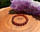 Genuine Baltic Amber Bracelet Chakra Healing Negative Energy Protection Stress Aura Cleanse Balance Grounding Copal Resin