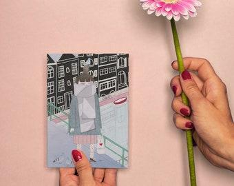 Greeting Card 'I Love Holland'