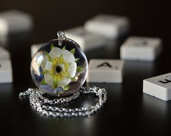 Fast Shipping Chain 80 cm. Polish Plant Resin Black Cone Pendant Sterling Silver Jewelry Real Cone Necklace Resin 4 x 2 cm
