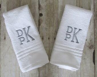 Monogram Hand Towel    Monogram Towel    Personalized Hand Towel   