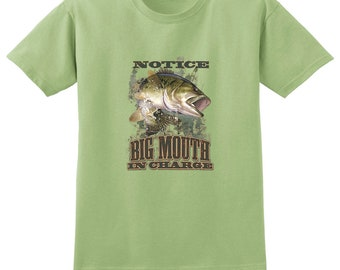 Big Mouth In Charge Bass T-Shirt