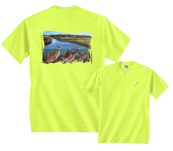 9c7e7f8cf9847 Backcountry Bulls Red Drum Redfish Fishing T-Shirt