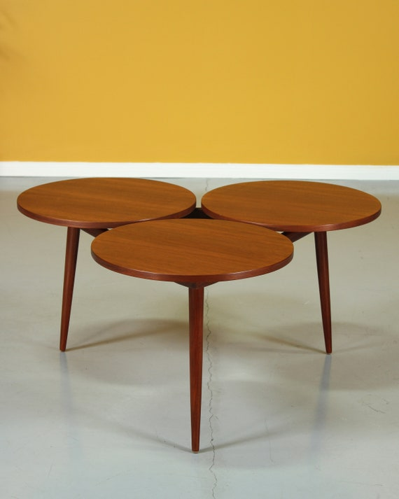 Awe Inspiring Mid Century Greta Grossman Style Walnut Coffee Table Gmtry Best Dining Table And Chair Ideas Images Gmtryco