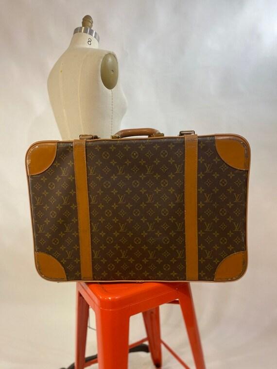 Vintage 70s/ 80s Rare LOUIS VUITTON Suitcase. Clas