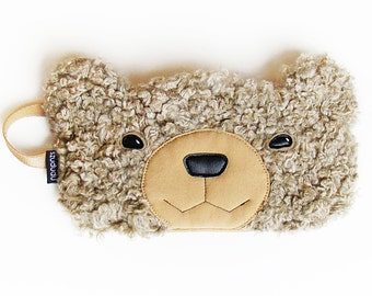 Bear sleep mask: sleep eye mask best mother's day gifts for her unique valentines day gift