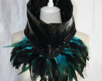 collar [Fada] Turquoise/Black