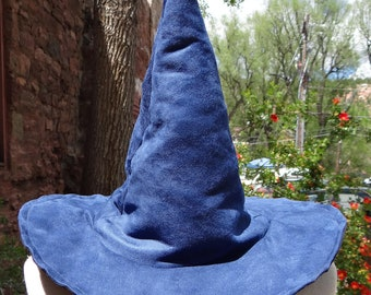 The Blue Witch or Wizard Hat