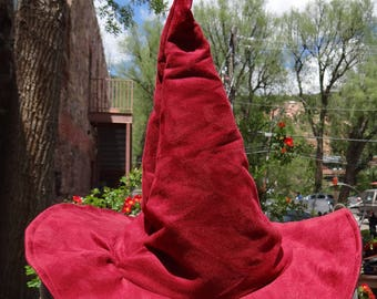 Red Witch or Wizard Hat