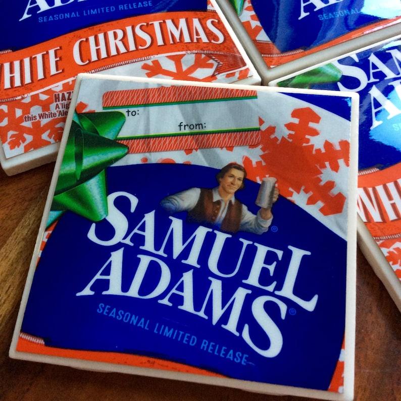 Sam Adams White Christmas.Sale Sam Adams White Christmas Beer Coasters