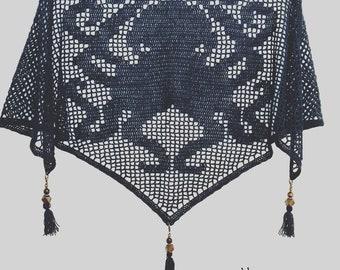 Crochet Kraken Shawl - PATTERN ONLY