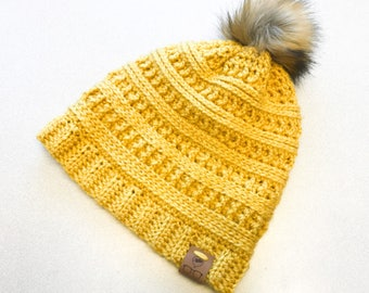 Blizzard Beanie Adult/Teen Size - PATTERN ONLY