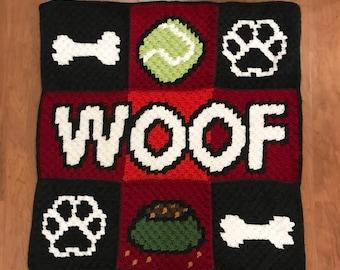 Crochet Doggo Blanket