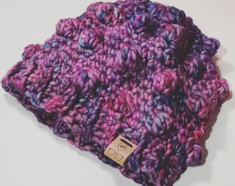 Dewberry Beanie Adult/Teen Size - PATTERN ONLY