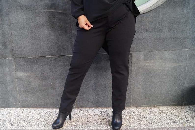 299083cd2ba Pants For Women Plus Size Pants Black Pants Plus Size