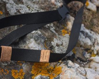 Chalk bag climbing belt