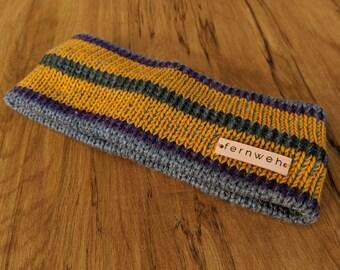 Fernweh UK Merino Wool Knitted Headband, Knit headband, ear warmer