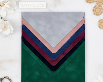 Velvet Envelopes/Liners