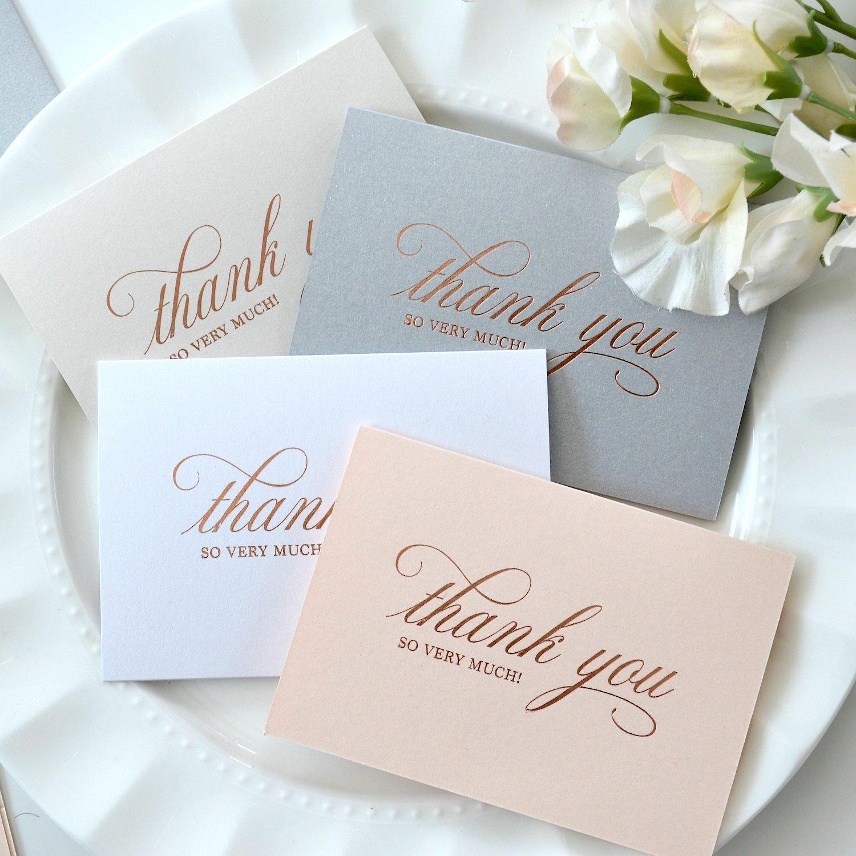 Свадебные благодарственные открытки
