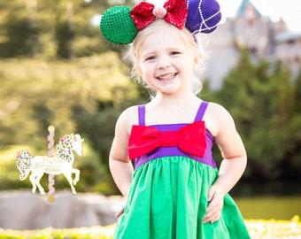 Ariel Dress - Little Mermaid - Little Mermaid Birthday Party - Ariel Costume - Princess Dress