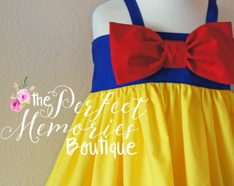 Snow White Dress | Snow White Birthday Party | Girls Snow White Dress | Baby Princess Dress | Disney Princess | Halloween Costume | Dresses