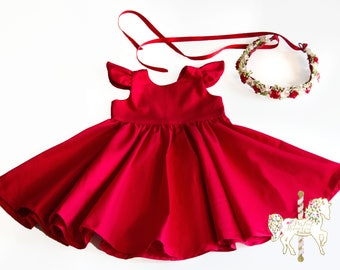 Baby & Toddler Clothing Toddler Girls 2t-3t Pretty Holiday Christmas Winter Dresses Lot Of Three Dresses