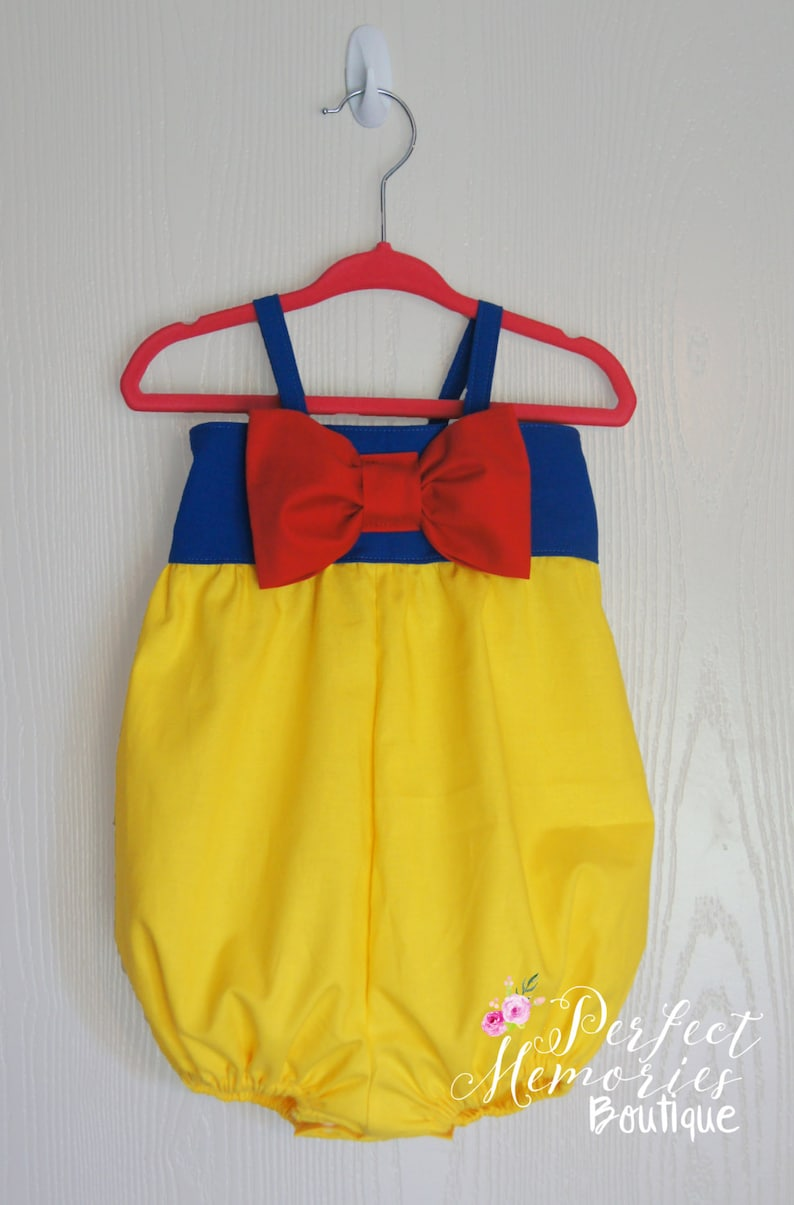 ee6ef7e63 Snow White Bubble Romper Snow White Birthday Princess