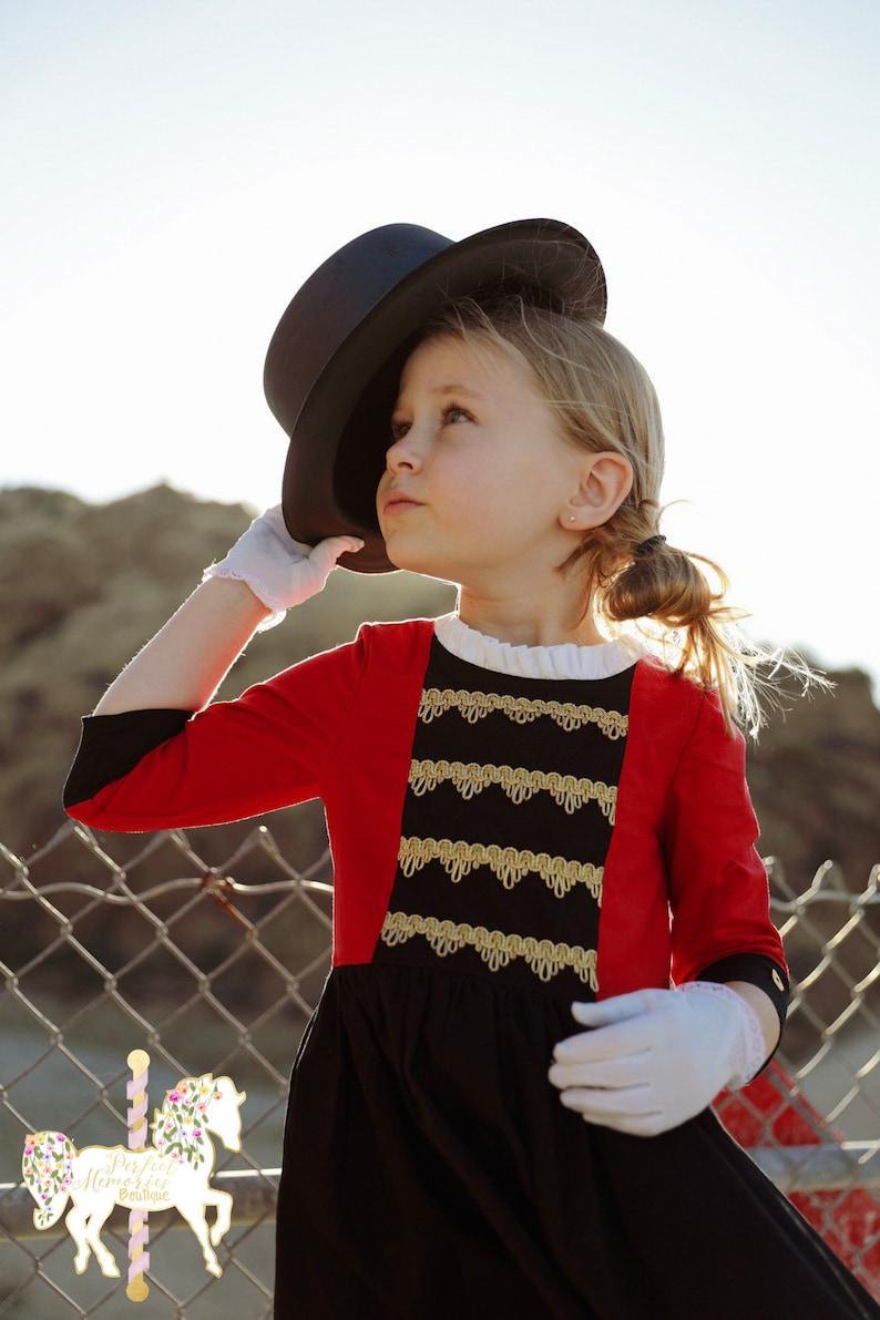 Greatest Showman Dress | Greatest Showman | Ringmaster Dress | Ringmaster Custom | P.T. Barnum | Circus Dress | Halloween Costume