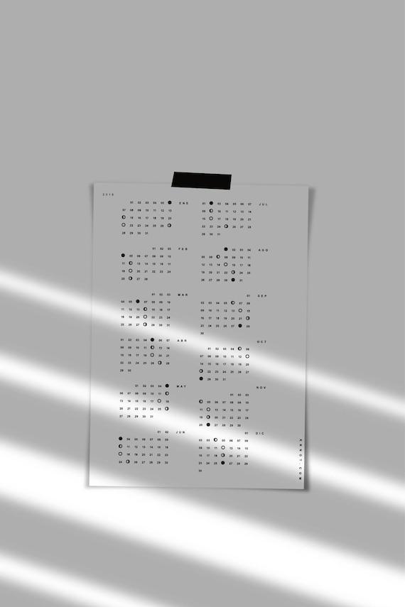 Octubre 2020 lunar chile calendario