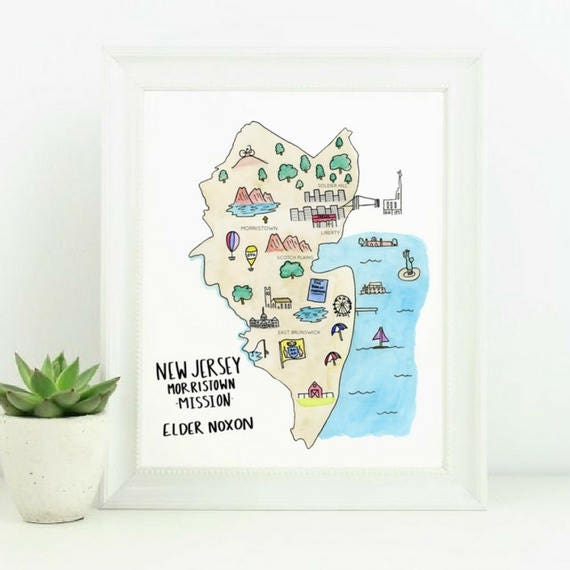 Lds Missions In California Map.Digital Print Lds Mission Map Carlsbad California Missionnew Etsy
