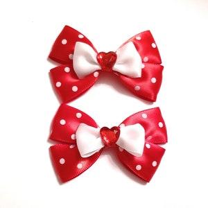 Girl Hair Clip Spring hair bow Wedding hair Clip Valentine/'s Day Hair Clip Baby shower accessory Holiday Glitter hair clip Hear Clip