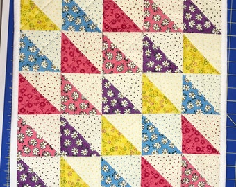 Quilted Patchwork Table Topper