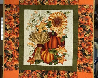 Pumpkin Harvest Quilt/Table/Wall Hanging