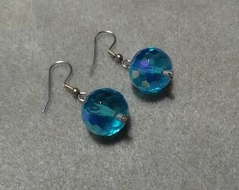 Dangle Blue Earrings
